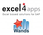 Excel4apps SAP Stacked Logo