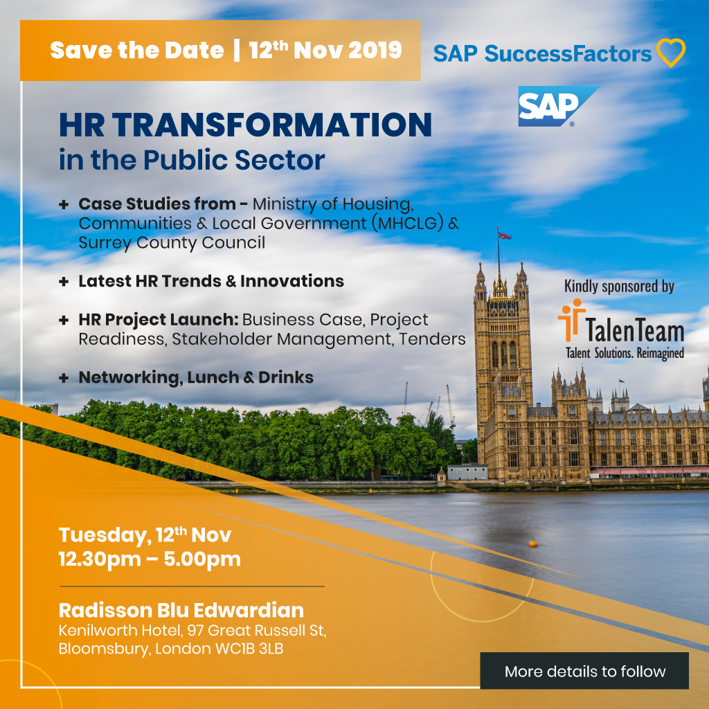 HR Transformation in the Public
