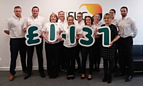 UK and Ireland SAP User Group raises £1,137 for Macmillan